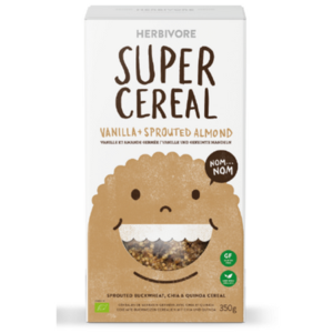 Herbivore - Super Cereal Vanilla & Sprouted Almond (250g)