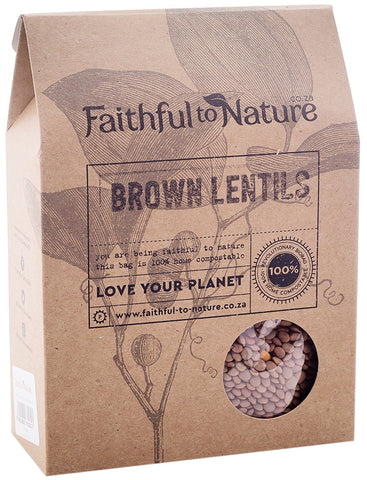 Faithful To Nature - Brown Lentils (400g)