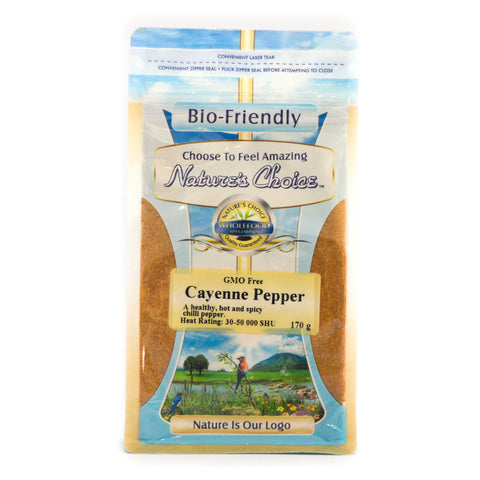 Nature's Choice - Cayenne Pepper (170g)