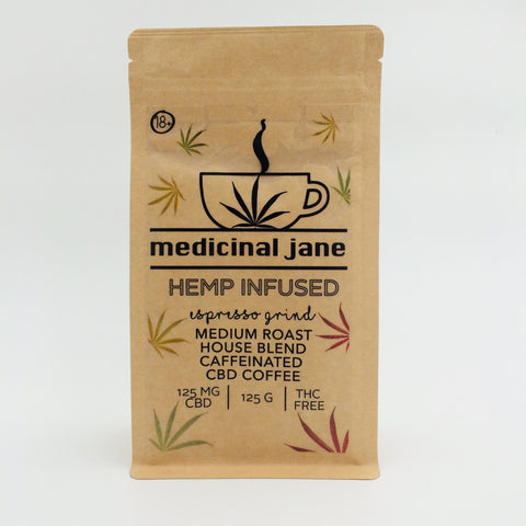 Medicinal Jane - CBD Coffee (250g)
