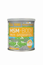 The Real Thing-MSM body powder 240g