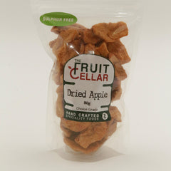 The Fruit Cellar -  Dried Apples (80g)