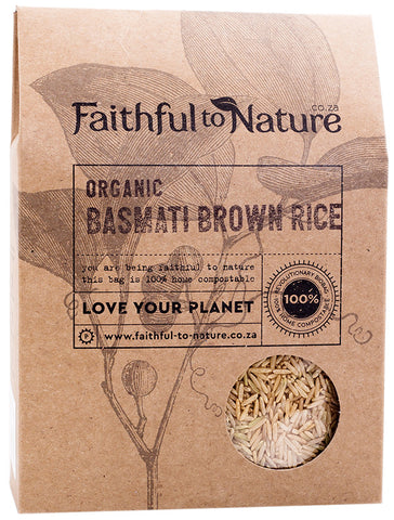 Faithful To Nature - Organic Basmati Brown Rice (400g)