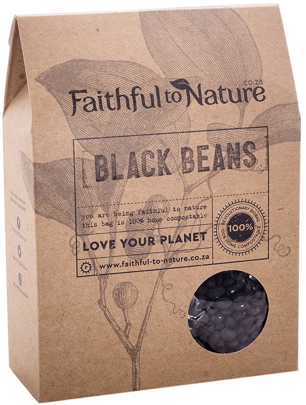 Faithful To Nature - Black Beans (400g)