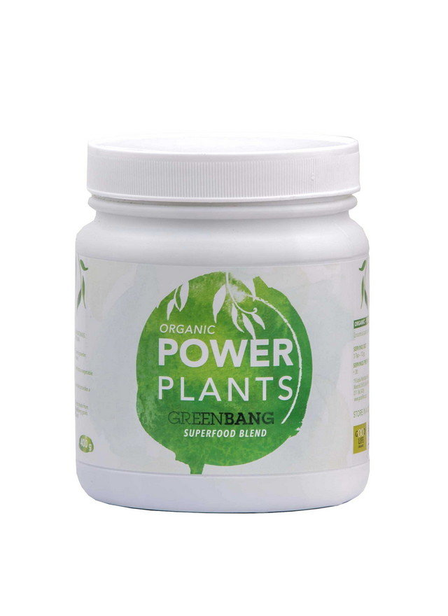 Good Life Organic - Organic Power Plants Green Bang Superfood Blend (400g)