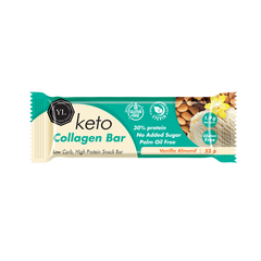 Youthful Living - Keto Vanilla Almond Collagen Bar (52g)
