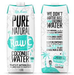 Pete Evans Pure Natural Raw C - Coconut Water (1L)