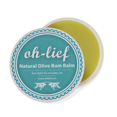 Oh-Lief - Natural Olive Bum Balm (100g)