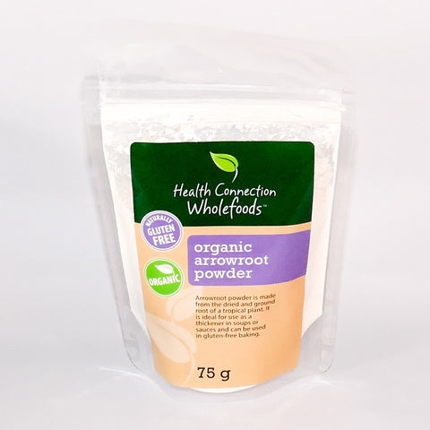 Health Connection Wholefoods - Arrowroot Powder (75g)