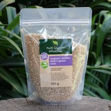Health Connection Wholefoods - Organic Brown Short-grain Rice (500g)
