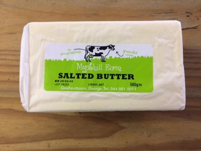 Mysthill Farm - Salted Butter (500g)