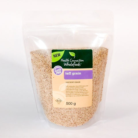 Health Connection Wholefoods - Teff Grain (500g)