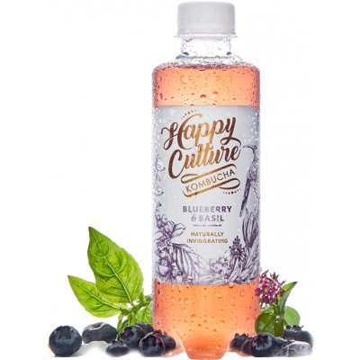 Happy Culture - Blueberry & Basil (340ml)