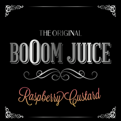 BoOom Juice- Raspberry Custard- Top ups