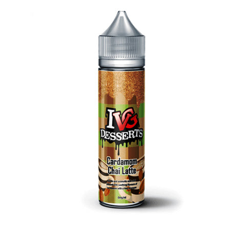 IVG Desserts - Cardamom Chai Latte 0mg 50ml Shortfill E-Liquid