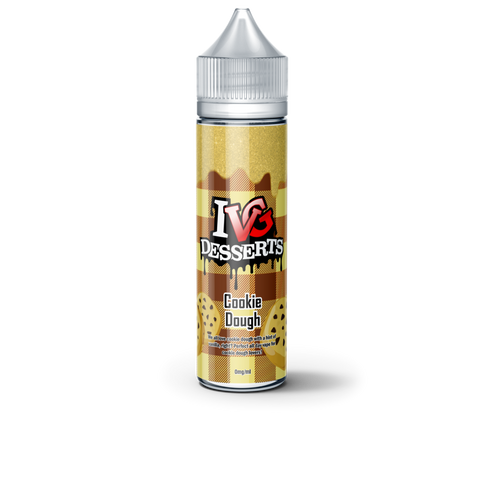 IVG Desserts Cookie Dough E liquid 50ml Short fill