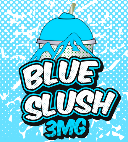 Blue Slush - By Chefs Vapour 50ml (0mg Pot Shot Flavour)