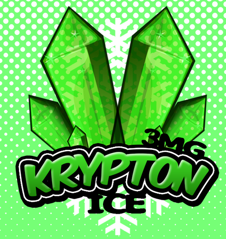 Krypton Ice - By Chefs Vapour 50ml (0mg Pot Shot Flavour)