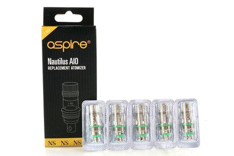 Aspire Nautilus AIO Replacement Atomizer 1.8 Ohm 5 pack