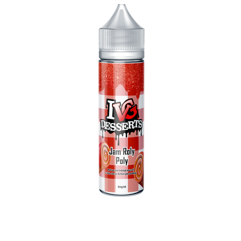 IVG Desserts - Jam Roly Poly 0mg 50ml Shortfill E-Liquid