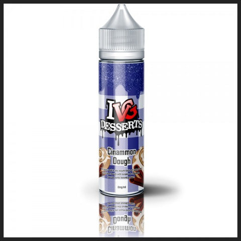 IVG Desserts - Cinnamon Dough 0mg 50ml Shortfill E liquid