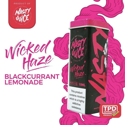 Nasty Juice- Wicked Haze 10ml TPD