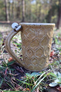 Honey Comb Coffee Mug