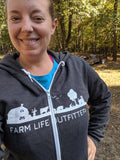 Farm Life Outfitters Zippered Hoodie