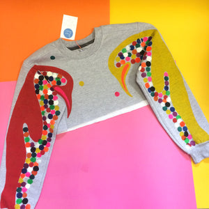 Pablo the Penguin Crop Sweatshirt