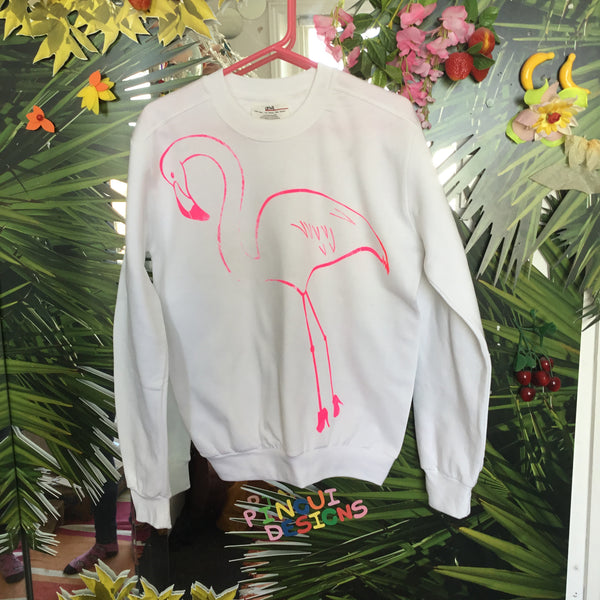 Sample Piece Flamingo Sweatshirt