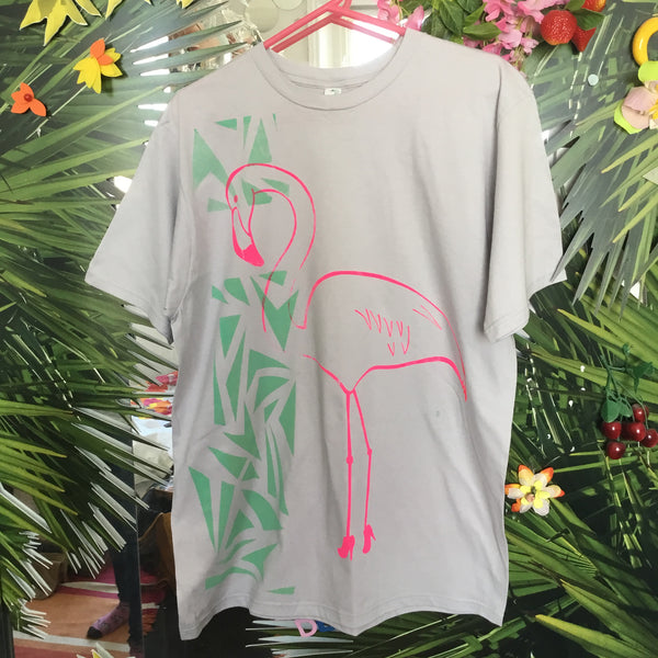 Sample Piece Flamingo T-Shirt