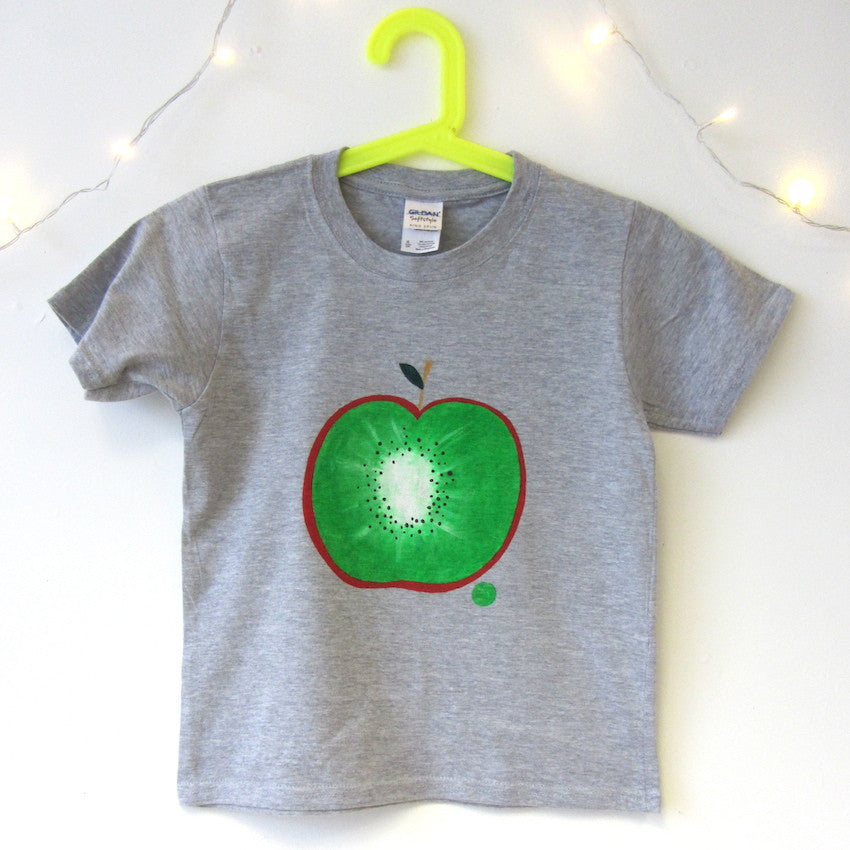 Kids Hand Painted Kwapple T-shirt