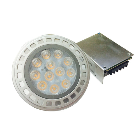 Foco Led AR-111 LED 12V incluye Driver/Transformador