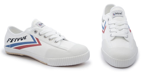 Uk Size 3.5 - Feiyue Canvas Sneakers  - Classic White