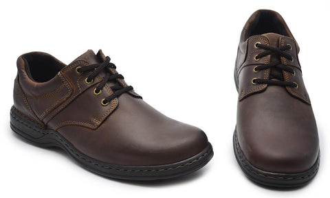 Hush Puppies Mens Brown Comfort Casuals - Bennett