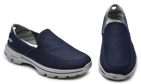 Skechers Mens Navy Casual Shoes  - Go Walk 3