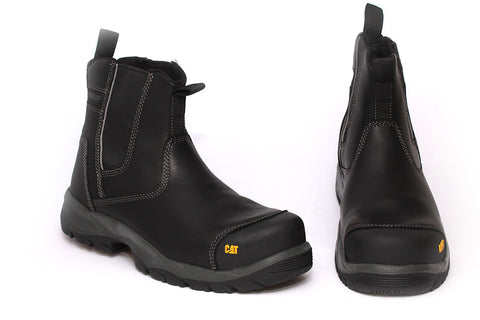 Caterpillar Mens Black Safety Boots - Propane