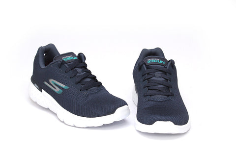 Skechers Ladies Navy Go Run 400 - Action