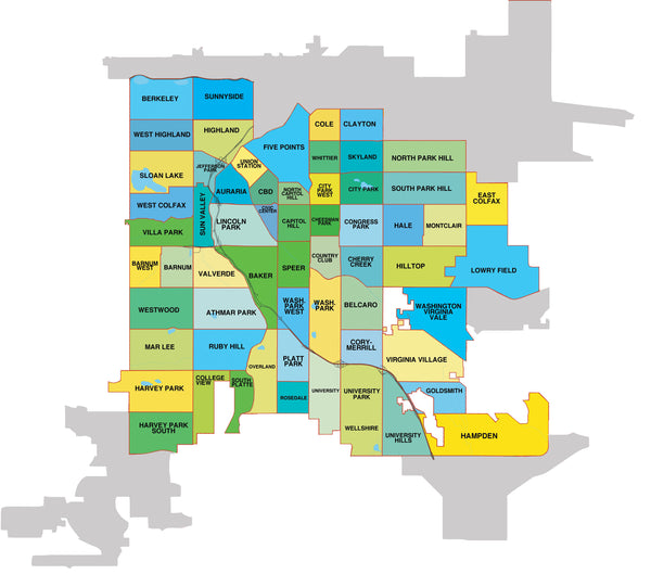 denver area home delivery map