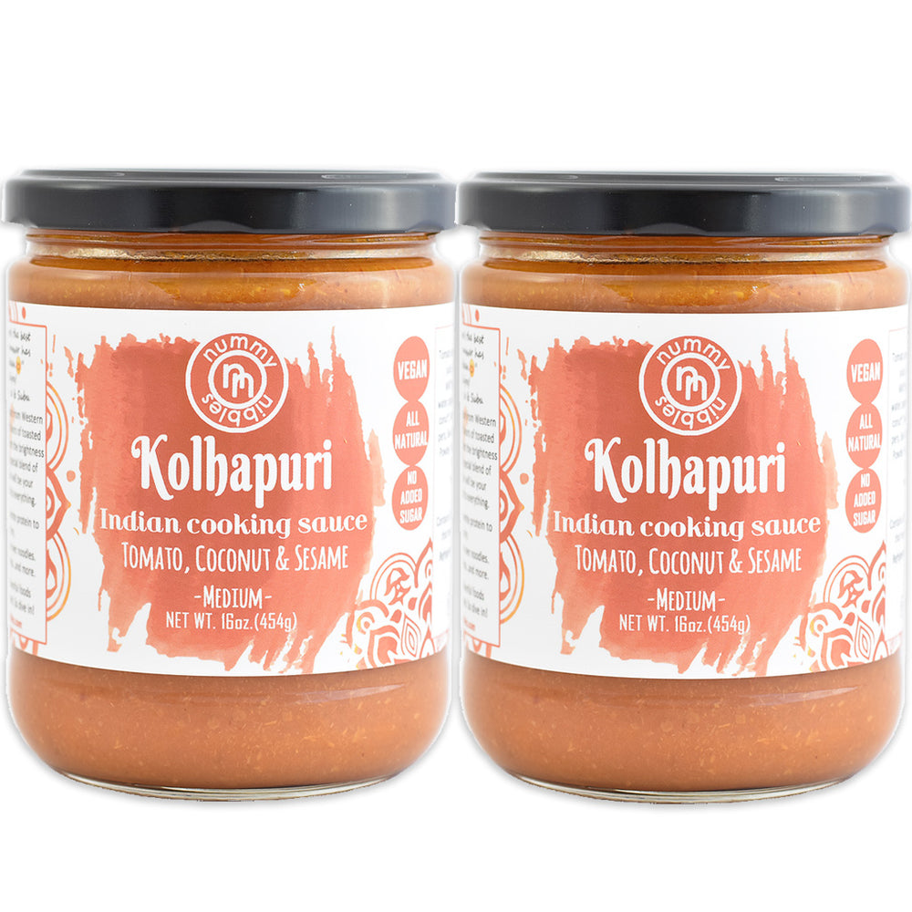 2 Pack - Kolhapuri Indian Cooking Sauce