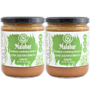 2 Pack - Malabar Indian Cooking Sauce