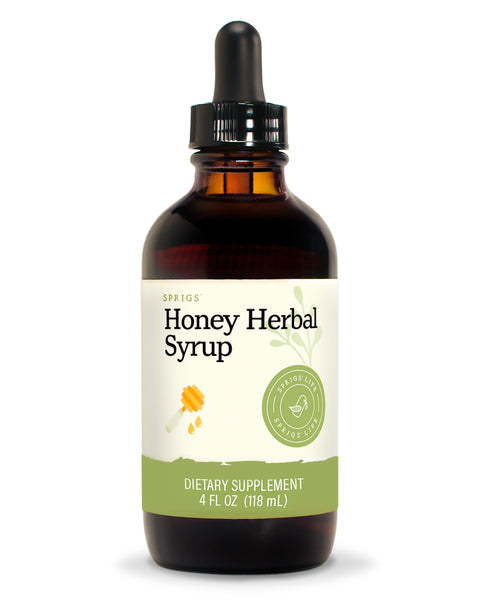 Honey Herbal Syrup