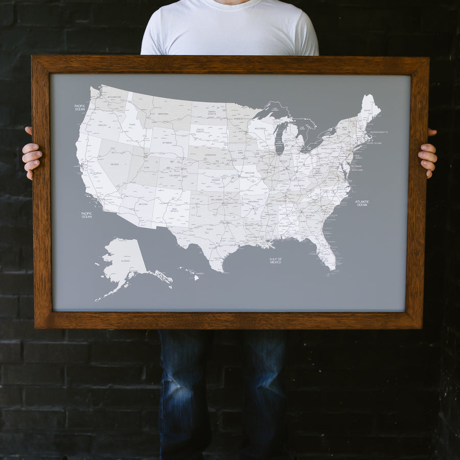 Large US Maps - Wayfaren