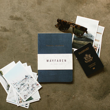 Weekender Travel Journal (Navy) - Notebooks - Wayfaren