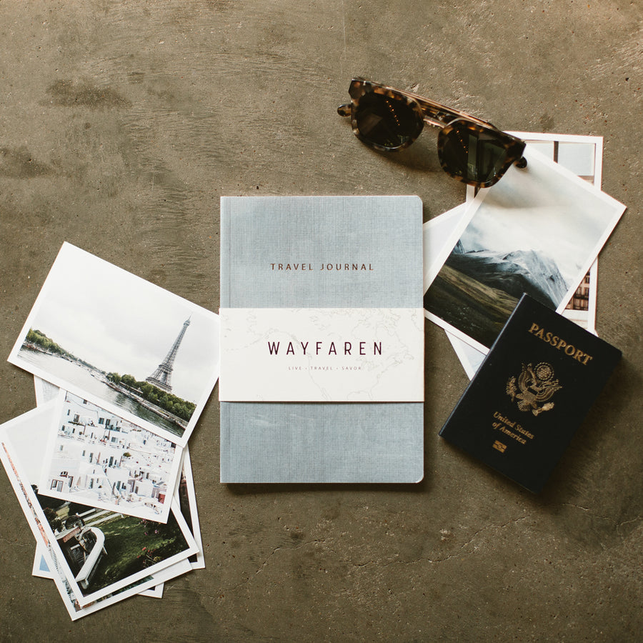 Travel Journal Set - Notebooks - Wayfaren