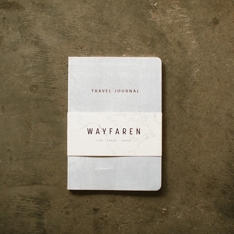 Weekender Travel Journal (Ivory) - Notebooks - Wayfaren