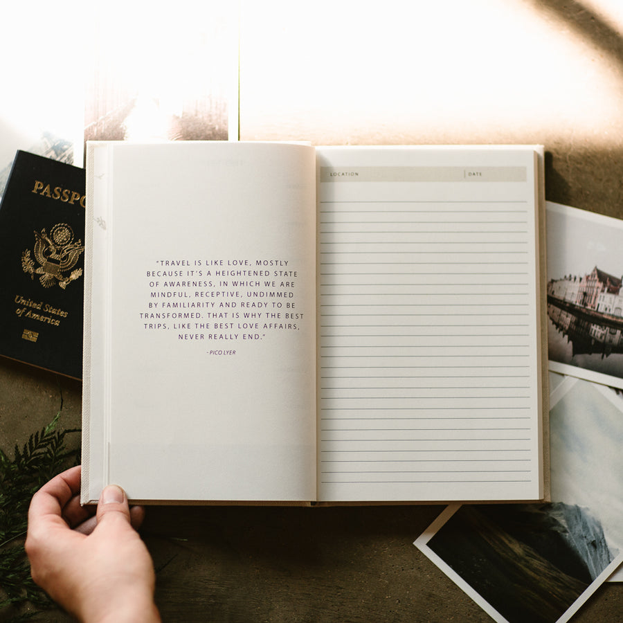 The Essential Travel Journal - Notebooks - Wayfaren