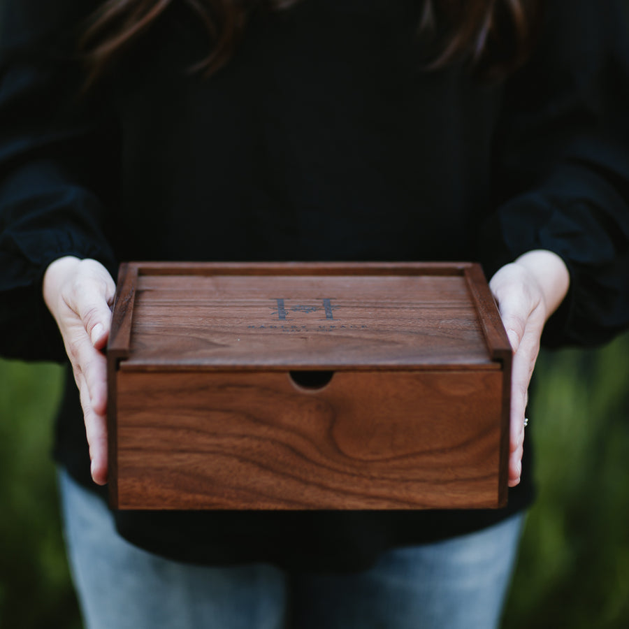 Classic Walnut Keepsake Box - Keepsake Boxes - Wayfaren