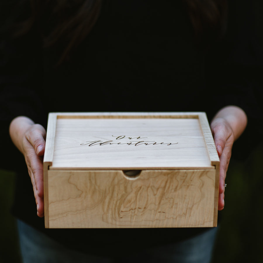 Classic Maple Keepsake Box - Keepsake Boxes - Wayfaren