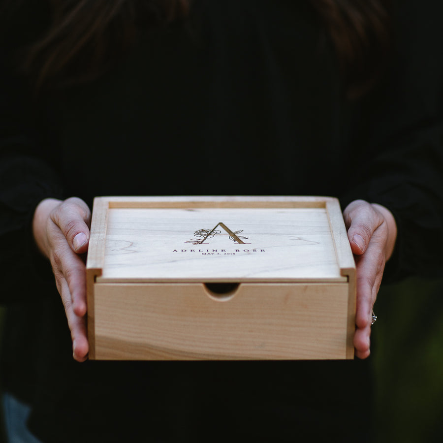 Small Maple Keepsake Box - Keepsake Boxes - Wayfaren
